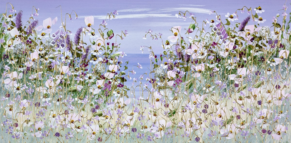 From the Cliff II by mary shaw -  sized 24x12 inches. Available from Whitewall Galleries